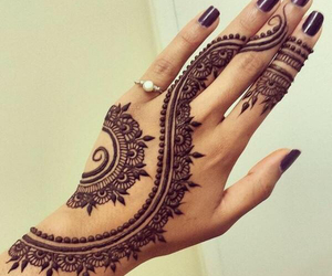 black, culture, and henna image