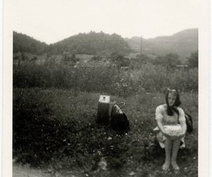 girl, vintage, and old image