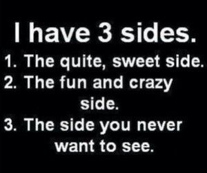 side, sweet, and crazy image