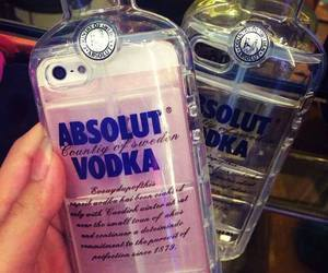 vodka, iphone, and case image