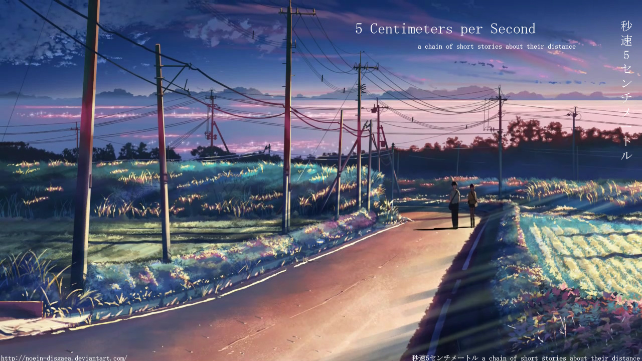 48 images about 5 cm por segundo 💕 on we heart it see more about anime 5 centimeters per second and gif