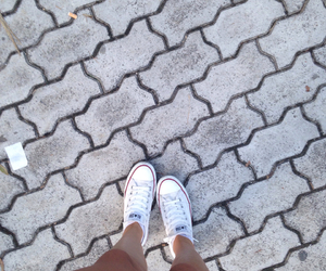 converse, legs, and white image