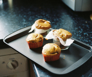 muffin, food, and photography image