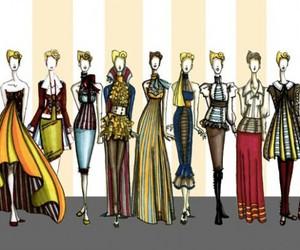 fashion drawing, fashion illustration, and fashion sketches image