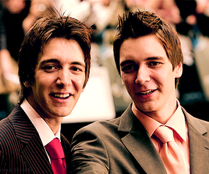 phelps twins, harry potter, and james phelps image