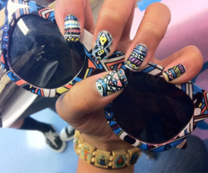Braclets, cool, and funky image