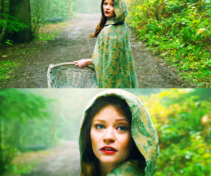 once upon a time, belle, and Emilie de Ravin image