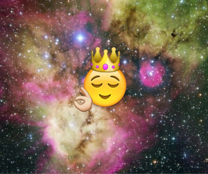 king, cool, and space image