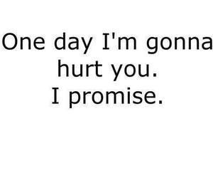hurt, promise, and quotes image
