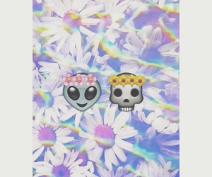 flowers, wallpaper, and alien image