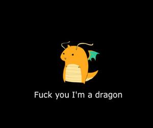 dragon, lol, and text image
