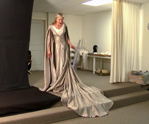 cate blanchett, costume, and LOTR image