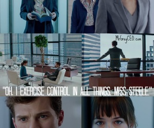fifty shades of grey and christian grey image