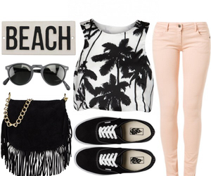 bag, beach, and fashion image