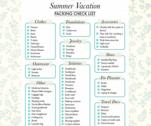 summer and vacation image