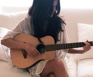 selena gomez, guitar, and selena image