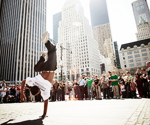 city, dancer, and dance image