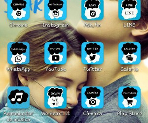 wallpaper, blme, and the fault in our stars image