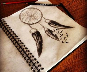 Dream, art, and draw image