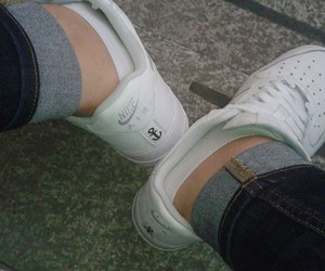 anchor, nike, and shoes image