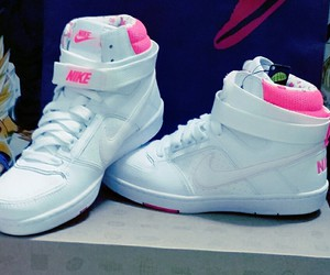 nike, nike dunk high, and shoes image
