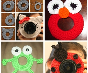 animals, crafts, and crochet image