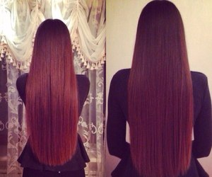 hair and long image