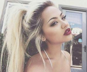ariana grande, hair, and make up image
