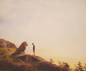 narnia, lion, and edmund image
