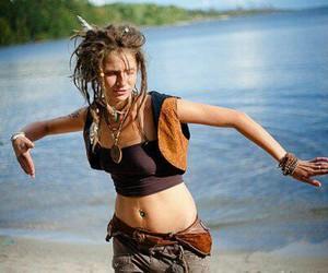 dreads, dreadlocks, and girl image
