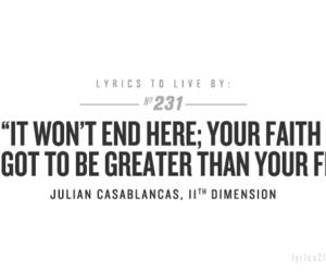 Lyrics and julian casablancas image