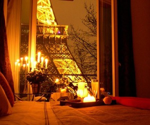 paris, romantic, and light image
