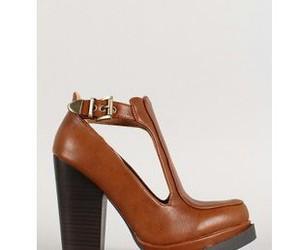 boho, marrom, and shoes image