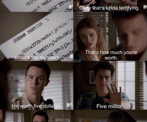lydia, parrish, and teen wolf image