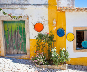 photography, portugal, and obidos image