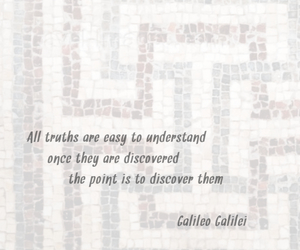 galileo and quote image