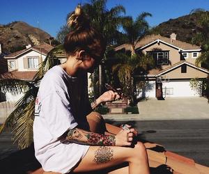 california, nature, and tattoo image