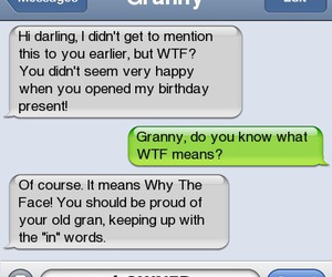 granny and wtf image