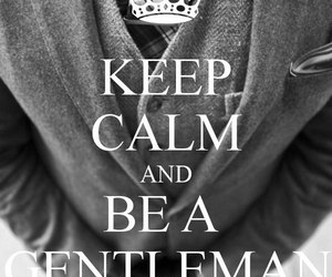 gentleman, keep calm, and boy image