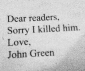 john green, the fault in our stars, and tfios image