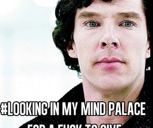 sherlock, mind palace, and benedict cumberbatch image