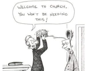 church, funny, and religion image