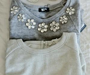 fashion, girly, and sweater image