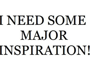 comment, stay tuned., and needing major inspiration image