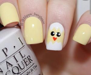 amarillo, nail, and pastel image