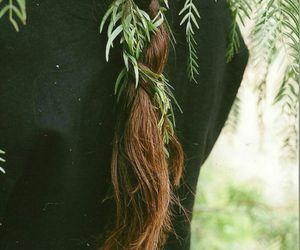 braid, hair, and nature image