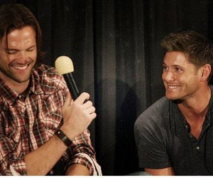 adorable, jared padalecki, and Jensen Ackles image