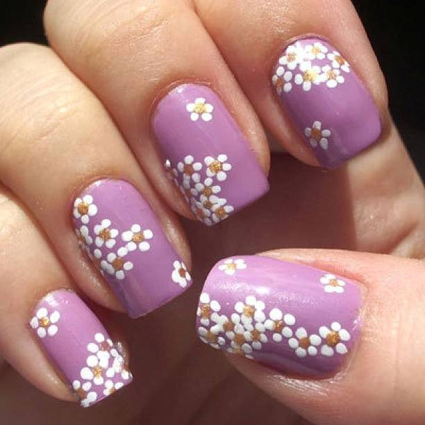 Fiori Unghie.Nailart Discovered By Sofiya On We Heart It