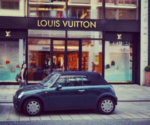 car, fashion, and Louis Vuitton image