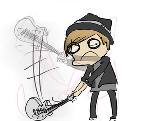 bands, punk rock, and fall out boy image